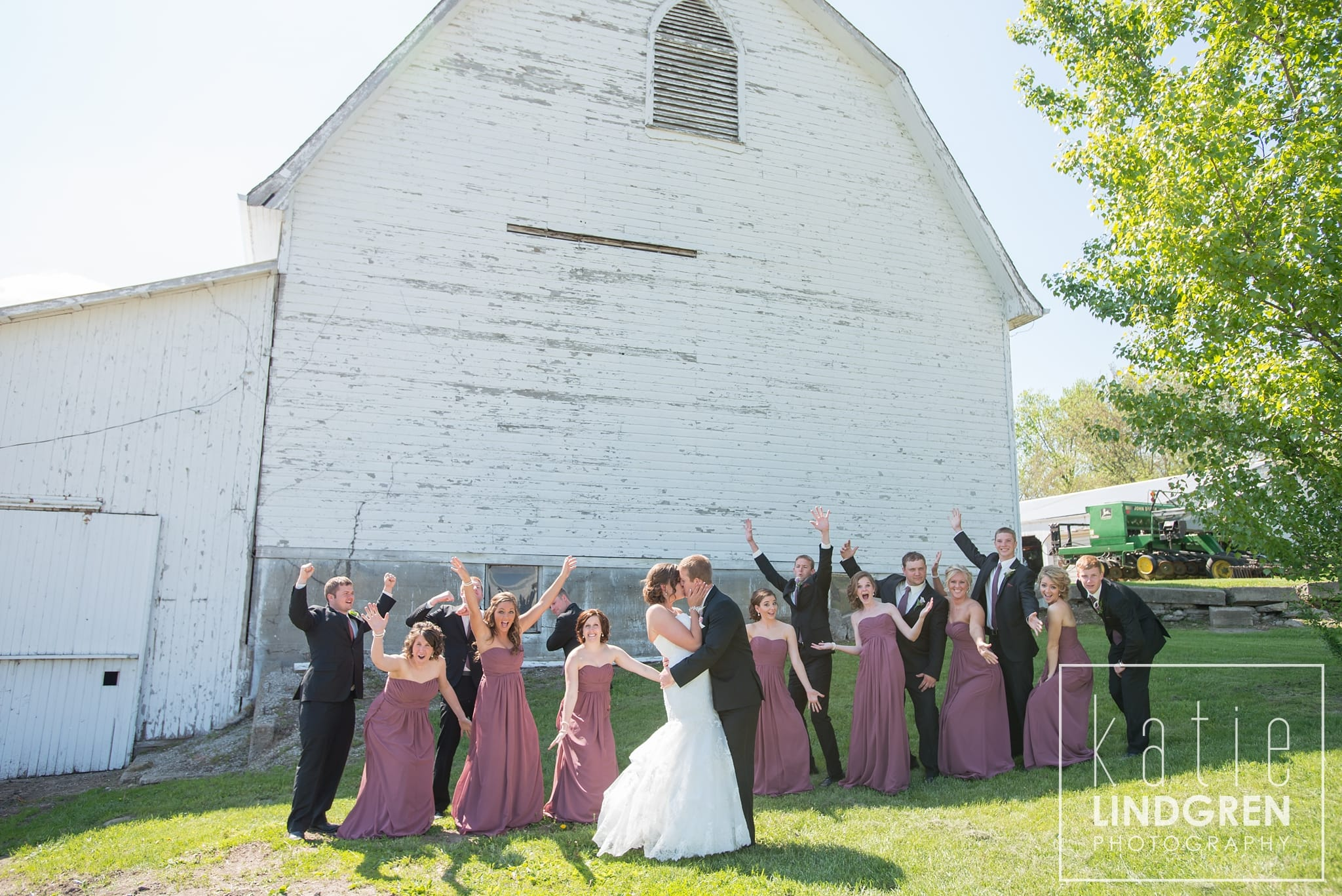 Rustic Iowa Wedding