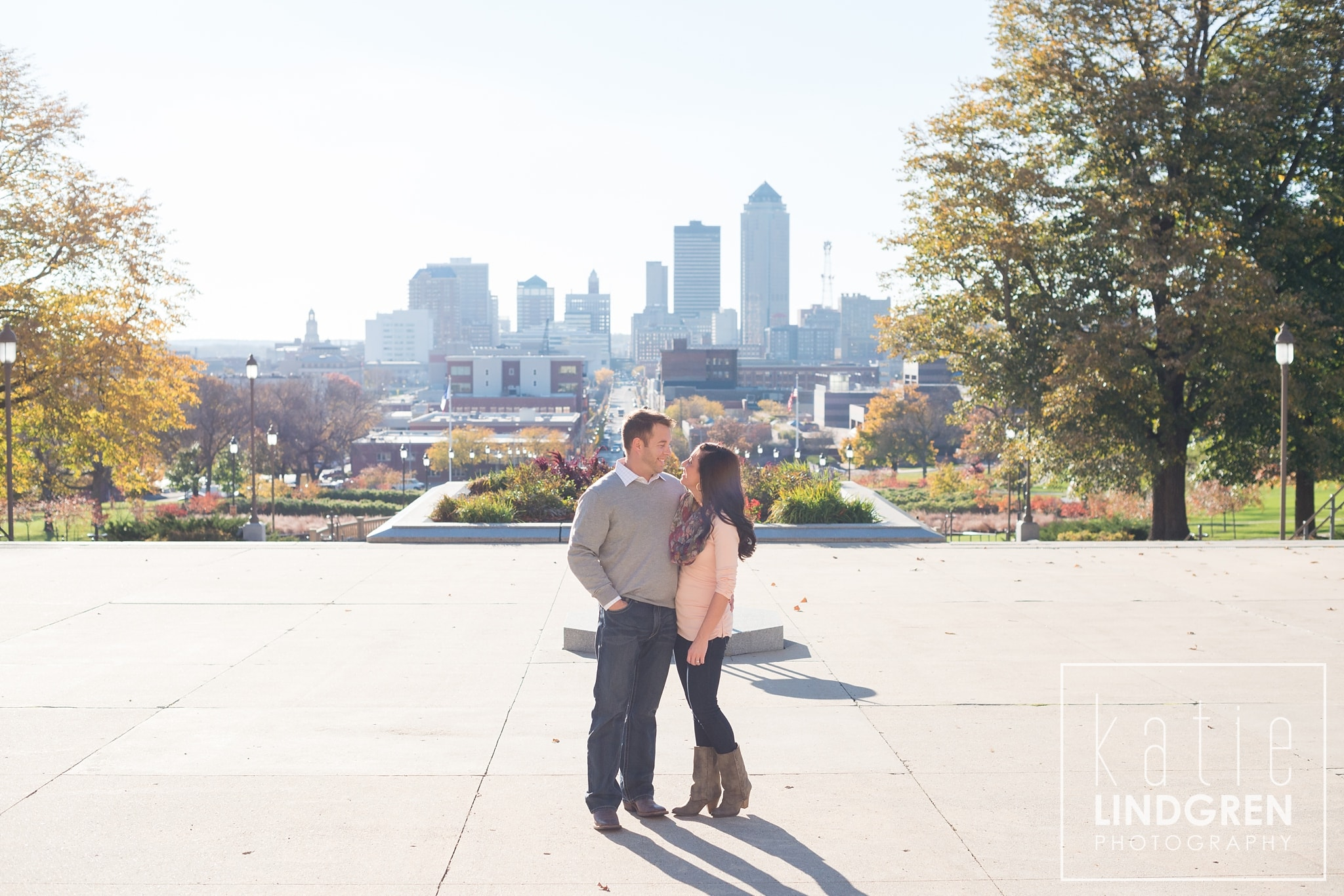 Des Moines Engagement and Wedding Photographers