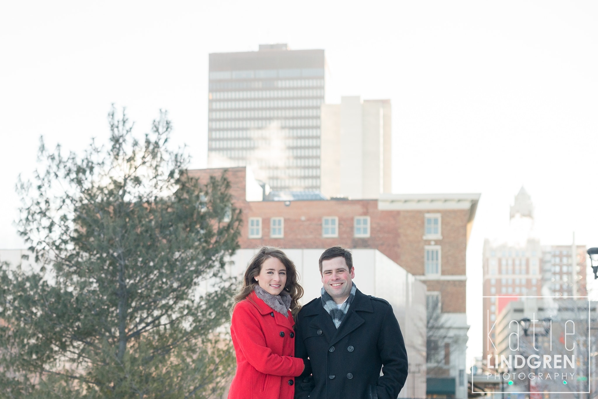 Des Moines Central Library Engagement Photos