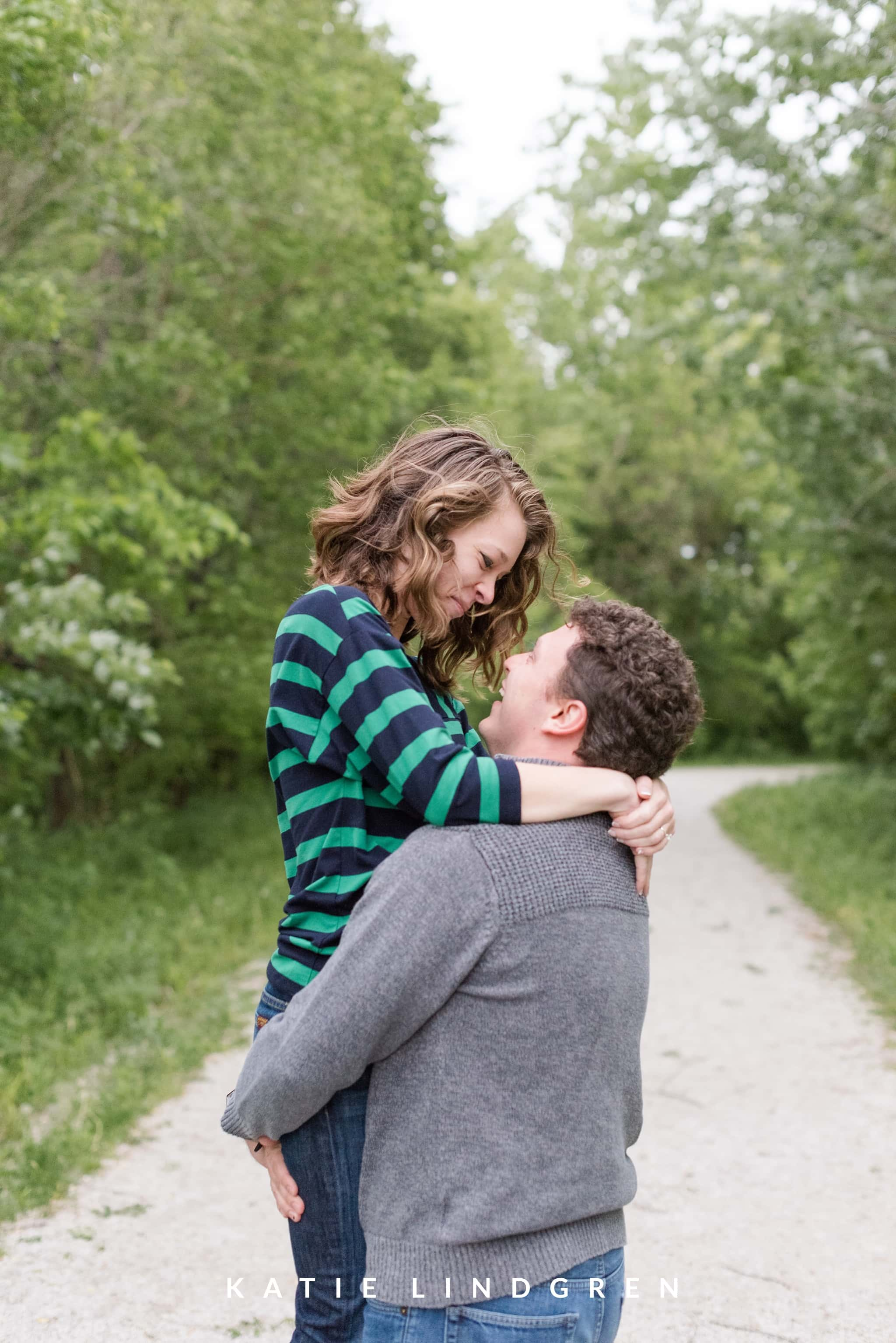 Des Moines Engagement Session