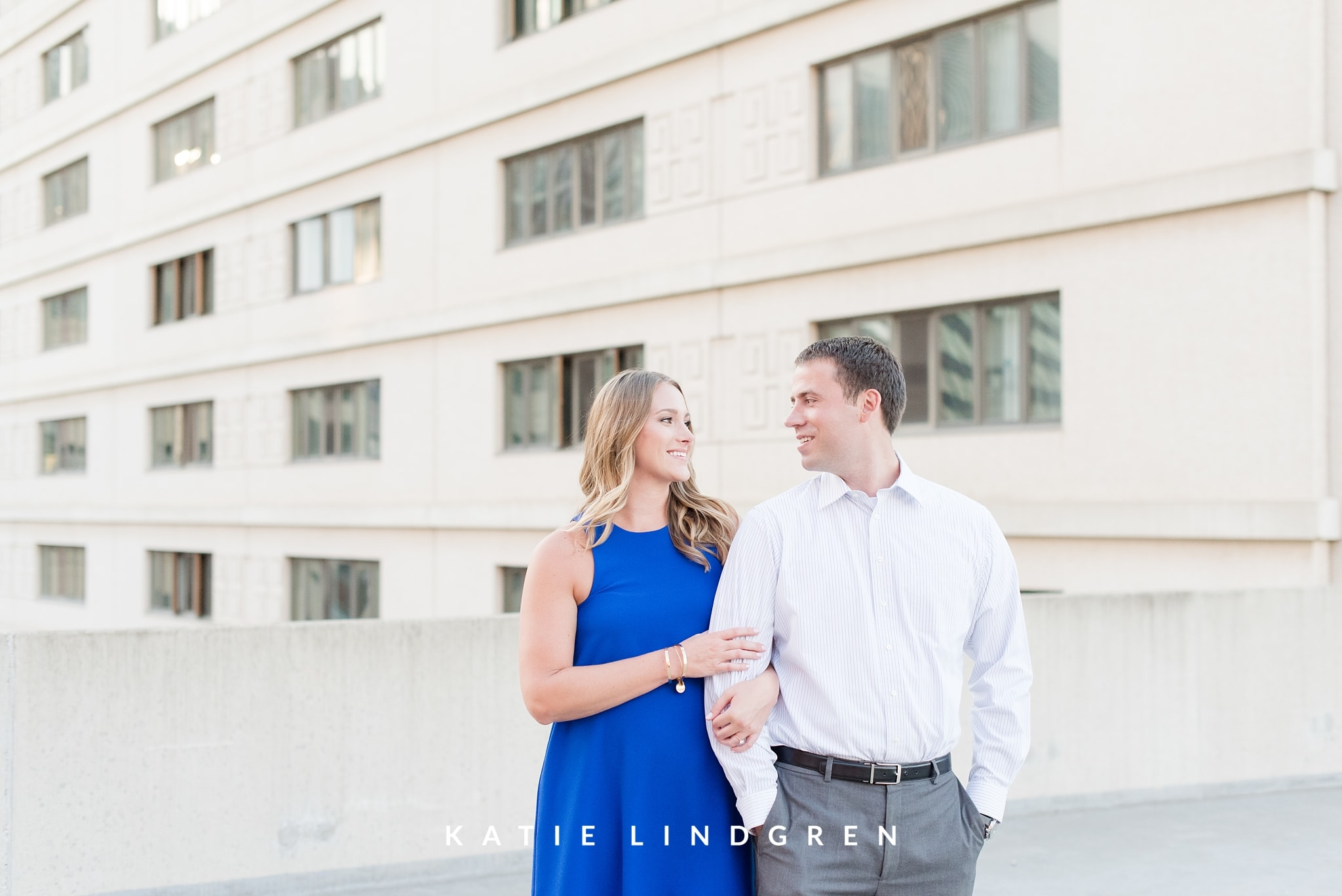 Downtown Des Moines Engagement Session